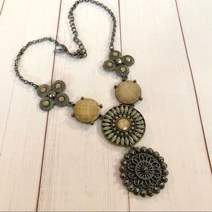 Statement necklace (marked NY)